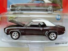 """JOHNNY LIGHTNING """"MUSCLE CARS U.S.A."""" - 1969 CHEVROLET CAMARO RS/SS 1/64 DIECAST"""