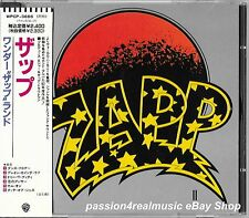 ZAPP II 1990 Warner Japan CD First Edition WPCP-3666 OOP Roger Troutman