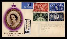 DR WHO 1953 GB FDC CORONATION QUEEN ELIZABETH II  C242802