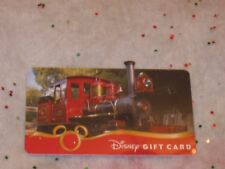 Disney Collectible Gift Card Die Cut Train NO VALUE