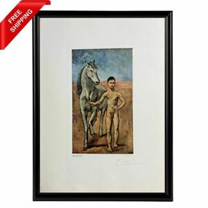 Pablo Picasso - Boy Leading a Horse, Original Hand Signed Print with COA