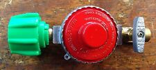 Propane, HP, Regulator for Cookers & Smokers.10 PSI. With 1/4 Pipe Valve
