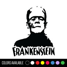 FRANKENSTEIN Boris Karloff Horror Classic Movie Monster Vinyl Decal Sticker