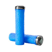 RockBros Lock on Bicycle  Handlebar Grips Mountain Bike BMX HandleBar Blue 1pair