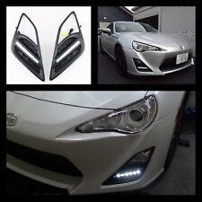 TOYOTA 86 FT86 GT GTS LED DRL FOG LIGHT SURROUNDS COVERS 2012-2016. SCION FR-S