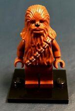 Genuine LEGO Minifigure Star Wars Chewbacca - with Baseplate - sw011a