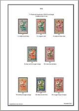 Album de timbres  d'Inini 1932-1944 à imprimer