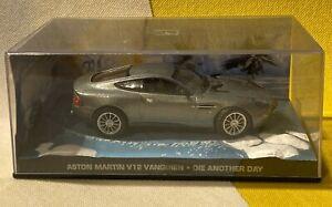 ASTON MARTIN  V12 VANQUISH - JAMES BOND CAR COLLECTION - DIE ANOTHER DAY - VGC