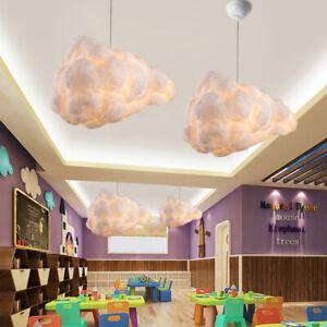 Hängeleuchte LED Leucht Decken Deckenlampe Schlafzimmer Pendelleuchte Wolke Form