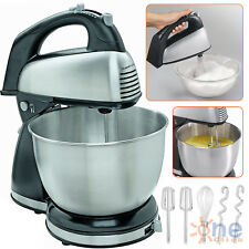 HAND STAND MIXER Classic Hamilton Beach Kitchen Cooking Bread Cake Mix 6 Speed