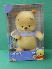 Winnie doudou Premier copain Fisher Price Peluche 2002 plush soft toy baby's