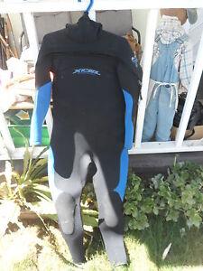 Wet Suit XCEL Tri-density Polar Glideskin 453