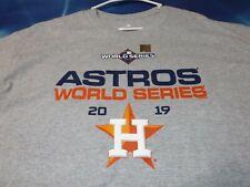 Houston Astros MLB Baseball 2019 World Series T-Shirt, Men's XL, Brand New
