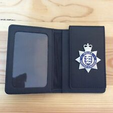 Prop Leather Police Warrant Card Holder Wallet
