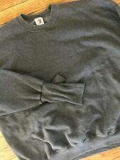 Vtg 80s 90s Handcuffs Usa Pullover 50/50 Attached Glove Cuffs Sweatshirt 2Xl
