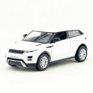 1:36 Scale Range Rover Evoque SUV Model Car Diecast Toy Vehicle Pull Back White