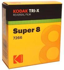 Kodak TRI-X Super 8 mm negro y blanco película 7266 Revendedor Oficial de cancelación
