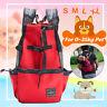 Adjustable Pet Dog Carrier Double Shoulder Bag Puppy Cat Travel Outdoor Backpack