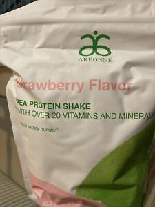 Arbonne Protein Powder Strawberry Limited Edition Sold Out Vegan Gluten Free