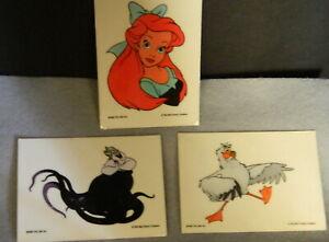 502#J-- Stickers Decals Walt Disney 1991 Collectible
