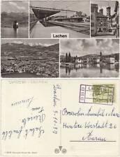 LACHEN - VEDUTINE - BAHNHOF - STAZIONE FERROVIARIA (SVIZZERA) 1957