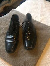 PATRICK COX Men's Black Leather Ankle Boots UK 8 42
