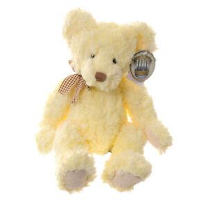 Russ Berrie 100 Year Anniversary Teddy Bear called Buckingham 30cm delicate soft