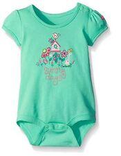 Carhartt Baby Girls' Short Sleeve Bodyshirt - Sunny Days - Size 6m
