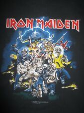 "1996 IRON MAIDEN ""EDDIE - BEST OF THE BEAST"" Concert Tour (LG) T-Shirt"