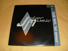 Club Vinyl – Get Nervous 45 RPM 12'' Single