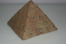 Detailed Aquarium Egyptian Pyramid Ornament 16 x 16 x 12.5 cms For All Aquariums
