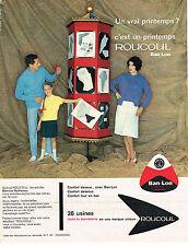 PUBLICITE ADVERTISING  1961   BAN- LON  ROUCOUL  SOUS VETEMENTS CHAUSSETTES
