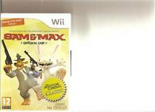 Sam and Max temporada 1 Nintendo Wii Sellado Raro