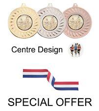 Offre spéciale 10 x Running 50 mm Métal Médailles & Rubans