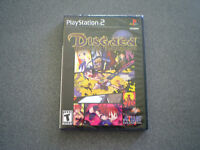 Disgaea: Hour of Darkness  PS2     Non Greatest Hits Black Label Version  NEW