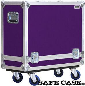 ATA Road Case for  Fender Reissue 65 Deluxe Reverb Vintage  in PURPLE Safe Case