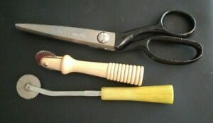 """VTG Super Clean! KLEENCUT DELUXE Pinking Shears #180-USA-7"""" With BONUS & FreeShp"""