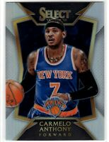 2014 Panini Select Carmelo Anthony Concourse SP Silver Prizm Refractor #63