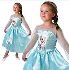 NUOVO 7-8 anni Disney congelato Elsa Costume verso l'alto ufficiale con licenza Rubies Costume