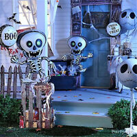 1pc Spider Ghost Skull Bat Halloween Balloons Foil Balloons Party Decorations UK