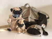 Fawn Pug Collection -- Bags, Storage and Carrying Cases