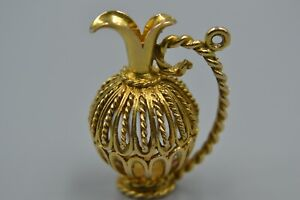 9ct Grecian Urn  Pendant