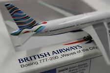 Herpa Wings 1:500 British Airways Boeing 777 Waves of the City (508230) Lim.1000