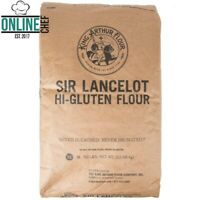 King Arthur Flour Sir Lancelot Bulk Supply 50 Lb Hi-Gluten Baking Cooking Flour