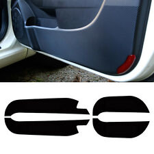 4D Door Protect Anti Scratch Carbon Black Cover 4p For 2013-2014 Kia Sorento