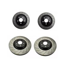 Mercedes W219 CLS55 AMG Kit of 2 Front and 2 Rear Disc Brake Rotor Opparts NEW