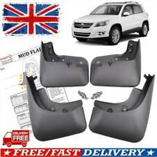 UK MUDFLAPS FOR VW Tiguan Mk1 SUV CUSTOM-FIT Splash Mud Guards Mud Flaps 2008-15