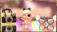 LOL Surprise Doll Lils LIL BABY GOO-GOO Queen Rare NEW~Sealed w Rare Gold Curler