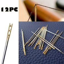 Prym HT 1-5 agujas de zurcir largo con Ojo de Oro Paquete de 10 Plata