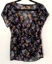 Zara Casual Floral Machine Washable Tops & Blouses for Women